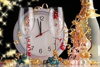 Новогодний банкет «С новым счастьем» в ресторане «Огни Подмосковья!»